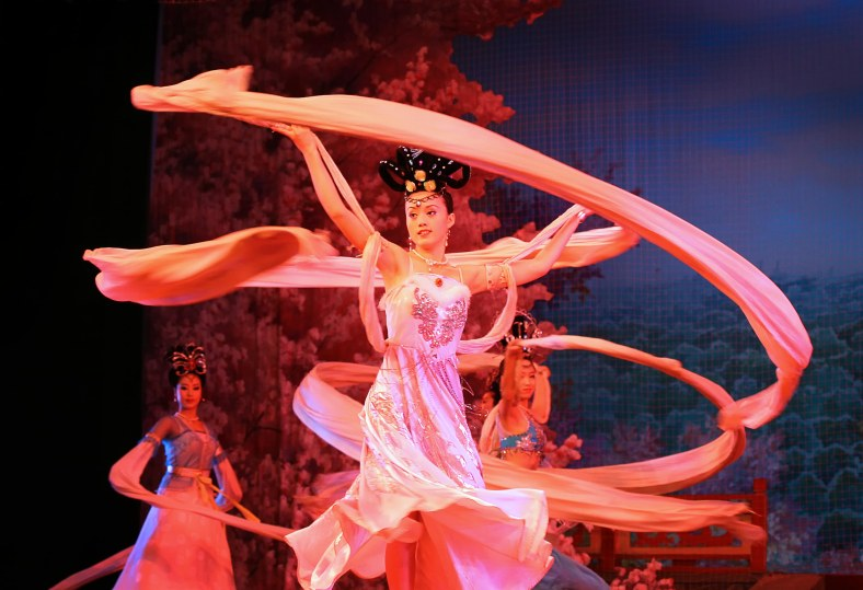 Tang Dynasty Show, Xian, China