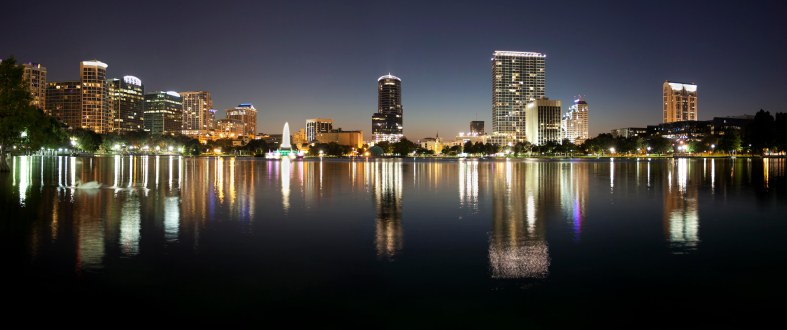 Lake Eola, Orlando Florida