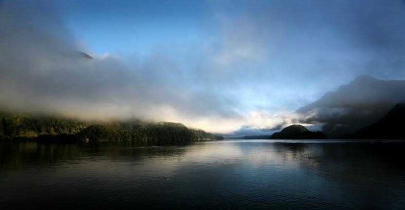 The Doubtful Sound, New Zealand