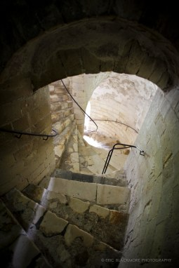 The Stone Stairways of Dover Castle, Dover, England