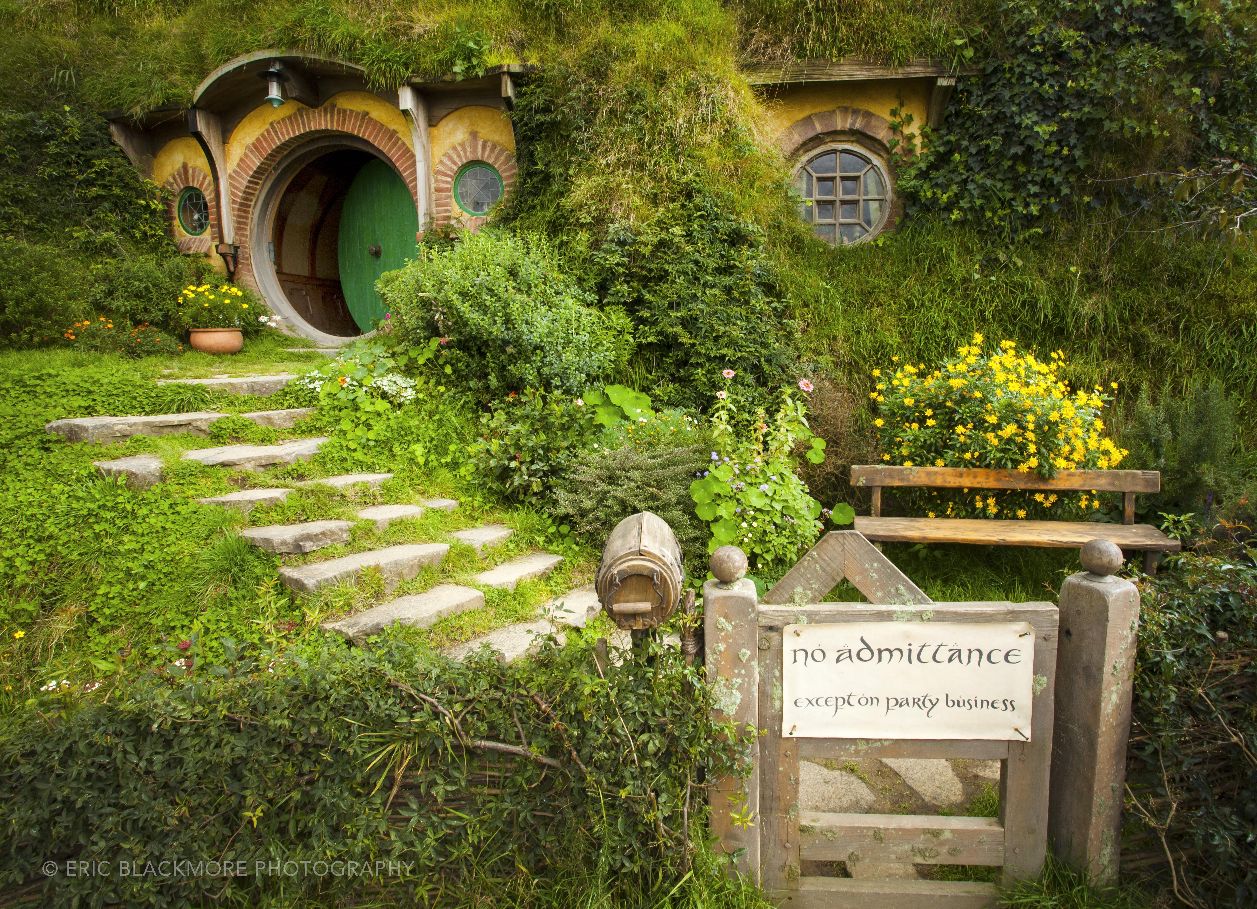 The Movie Set Of Hobbiton In Matamata New Zealand Eric