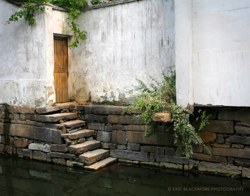 Door to Canal in Suzhou