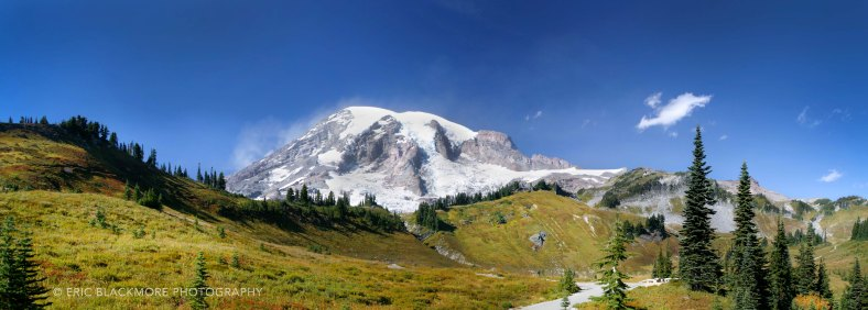 Mt. Rainer in early fall