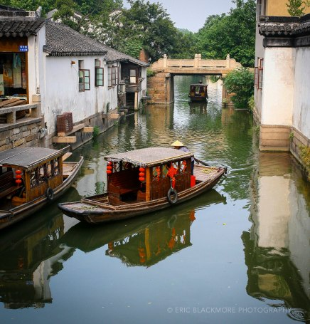 Water Taxis in Suzhou
