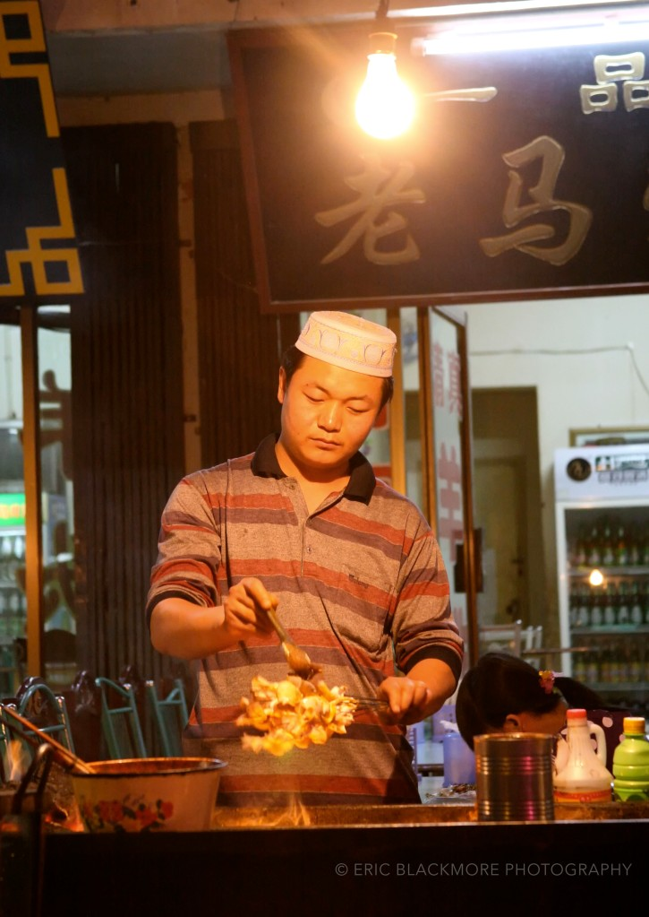 Street Market Chef, Dunhuang China
