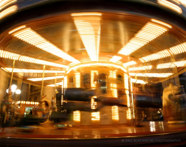 Light Painting with Carousel