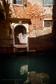 Doorway To The Sea and Canals of Venice