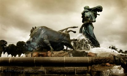 Gefion Fountain, Sculpture, Copenhagen, Denmark